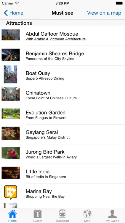 Singapore Travel Guide Offline screenshot-3