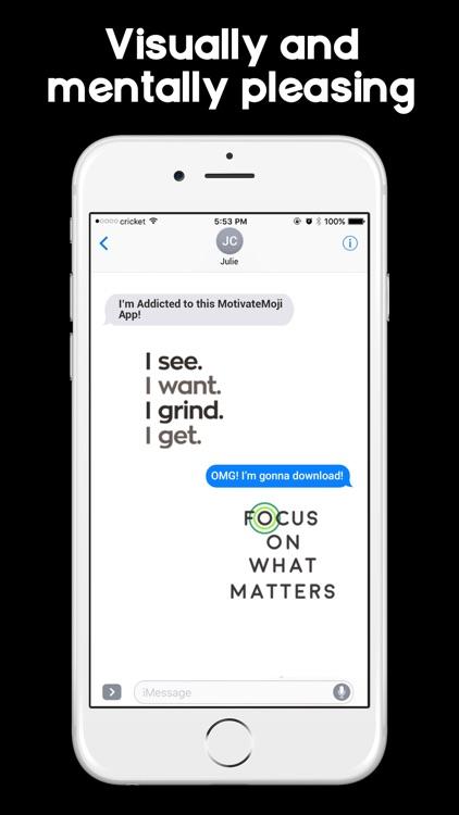 MotivateMoji - Emoji & Sticker