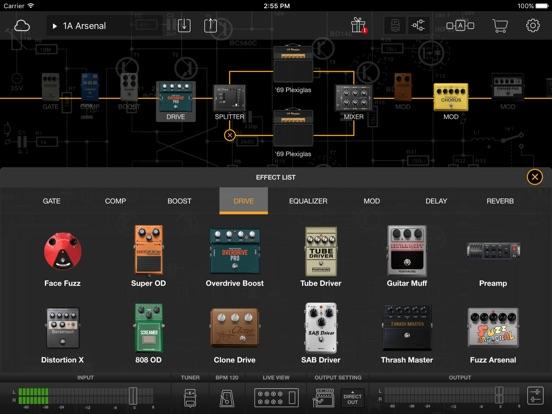 Screenshot #5 pour BIAS FX: Guitar Amp & effects