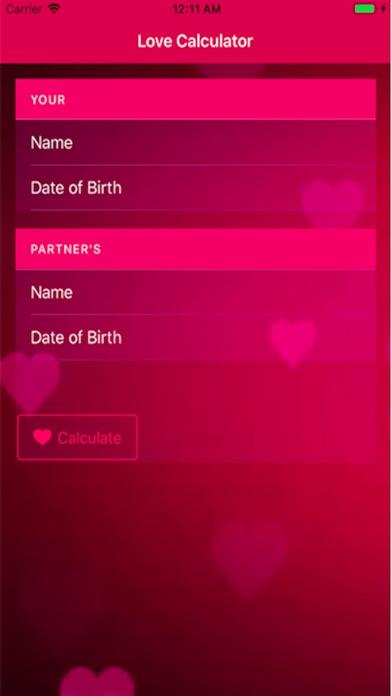 Screenshot 4 For Love Calculator Real