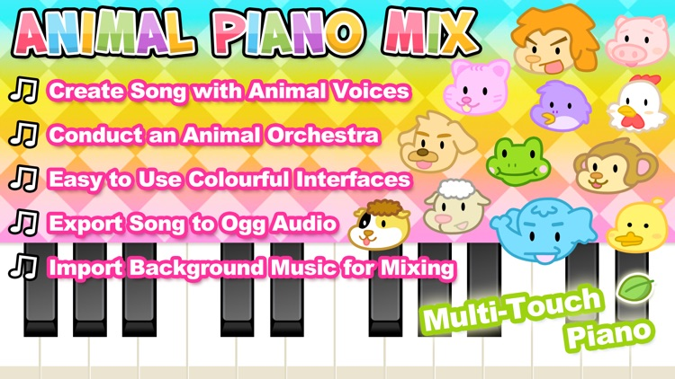 Animal Piano Mix screenshot-0
