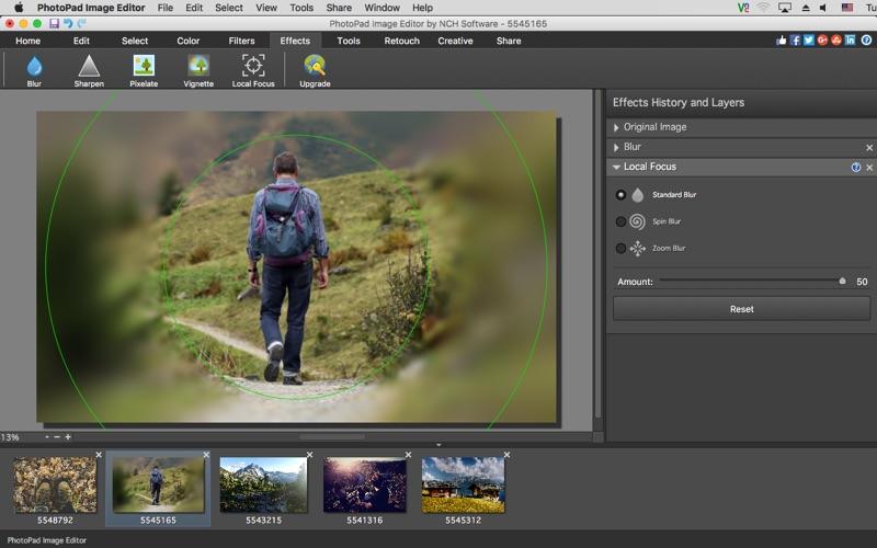 PhotoPad Screenshot