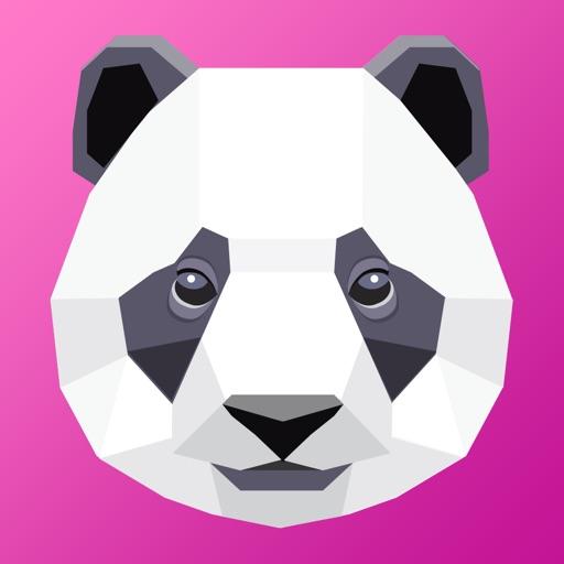 Panda PolyArt Color By Number iOS App