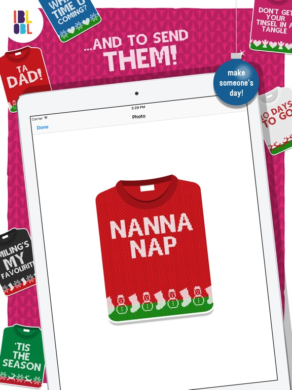 Christmas Jumpers for iMessage screenshot 6