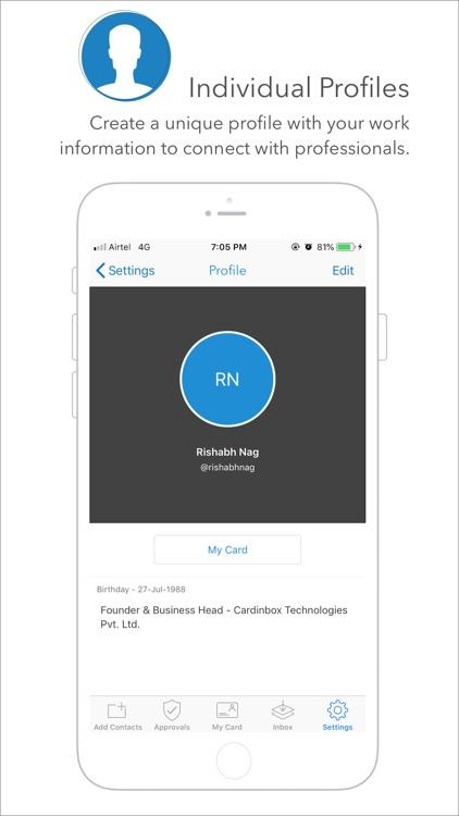 Cardinbox   Business Contacts screenshot-3