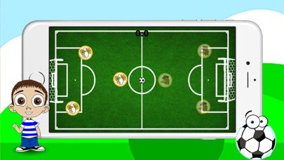 Animals One Touch Soccer Game screenshot two