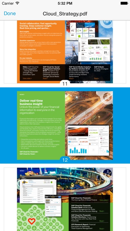 SAP Mobile Documents screenshot-3