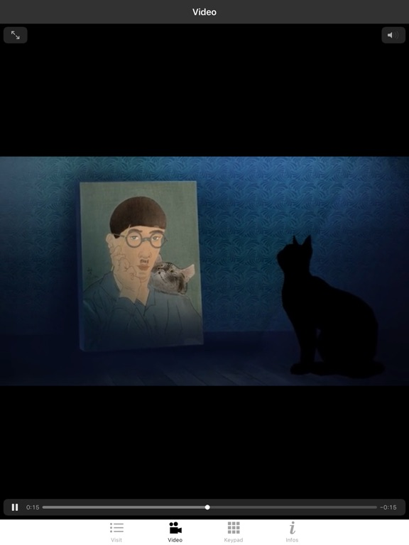 Foujita exhibition screenshot 8