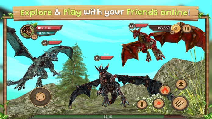 Dragon Sim Online Screenshot