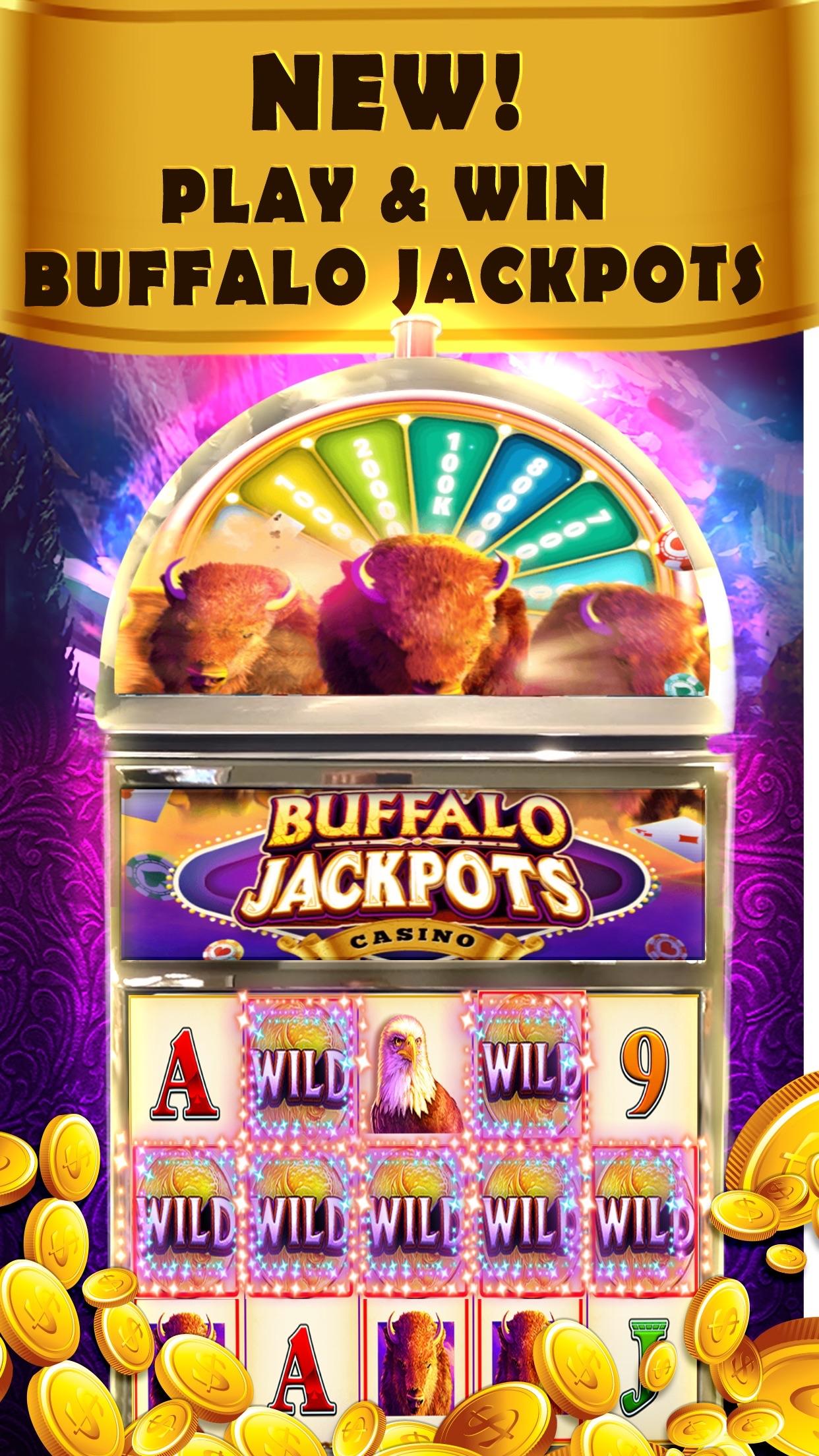 Buffalo Jackpot casino & slots Screenshot