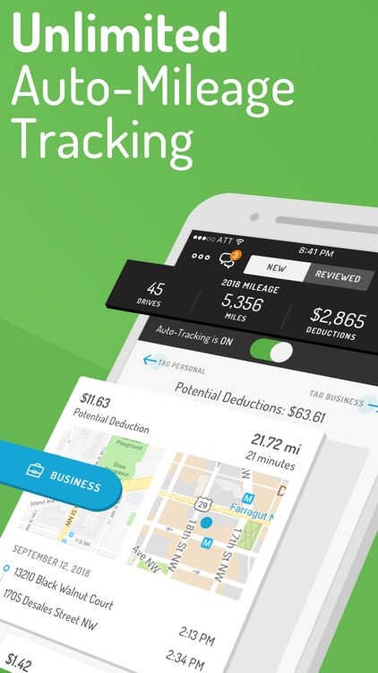 Hurdlr Expense Mileage Tracker screenshot-0