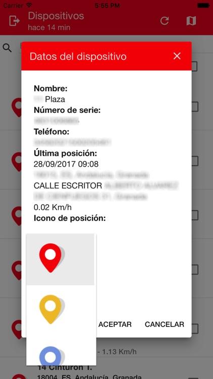 ITSOFT Visor TrackGPS screenshot-3