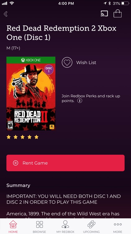 Redbox – Rent, Watch, Play screenshot-4