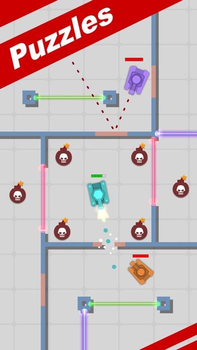 Pocket Hero 2-Tanks Battle Screenshot on iOS
