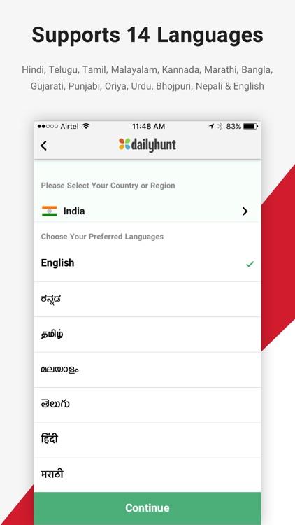 Dailyhunt (Formerly NewsHunt) screenshot-3