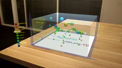 Demo- Holographic Portfolio screenshot one