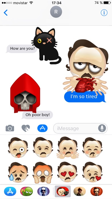 Poe Emojis screenshot 2