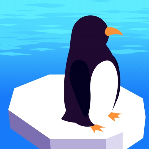 Slipping Penguin icon