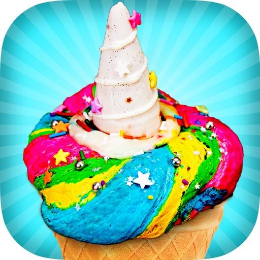 Unicorn Ice Cream Maker Game! Kawaii Rainbow Chef iOS App