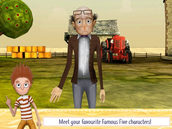 The Famous Five Adventure Game screenshot 2