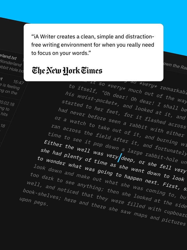 iA Writer on the App Store