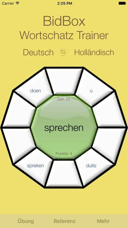Vocabulary Trainer: German - Dutch