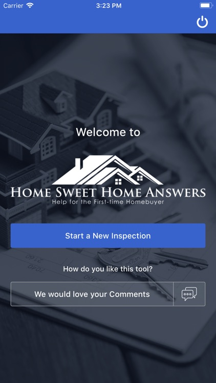 Personal Home Inspection Tool