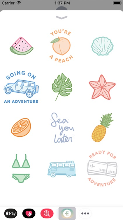Eidon Adventurer Sticker Pack