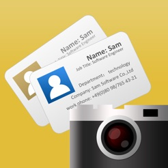 Business card scanner samcard on the app store business card scanner samcard 4 reheart