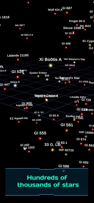Map to the stars on the App Store