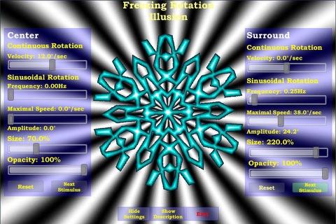 Freezing Rotation Illusion - náhled