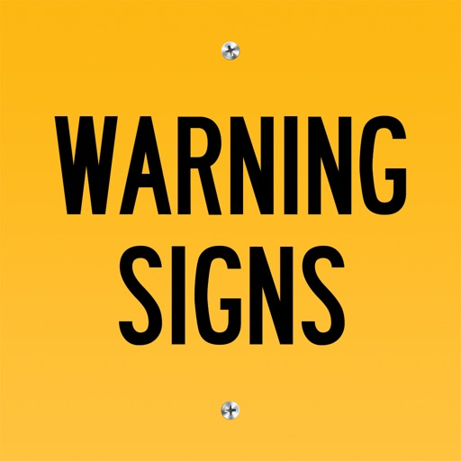 Warning Sign Animated Stickers