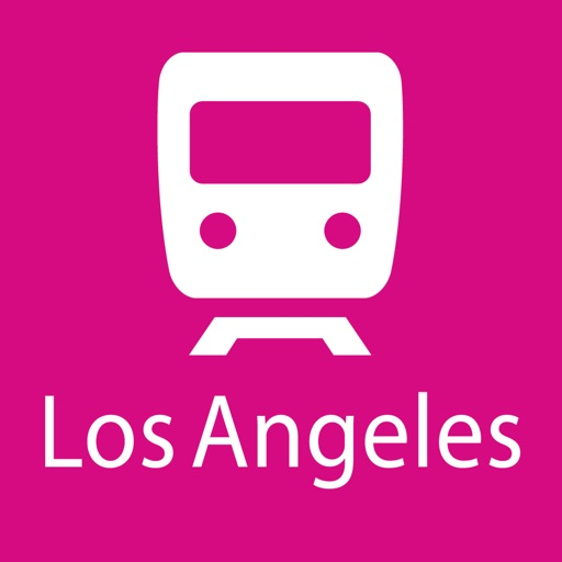 Los Angeles Rail Map