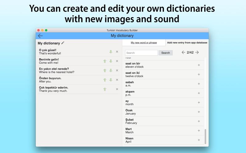 Turkish Vocabulary Builder screenshot 5