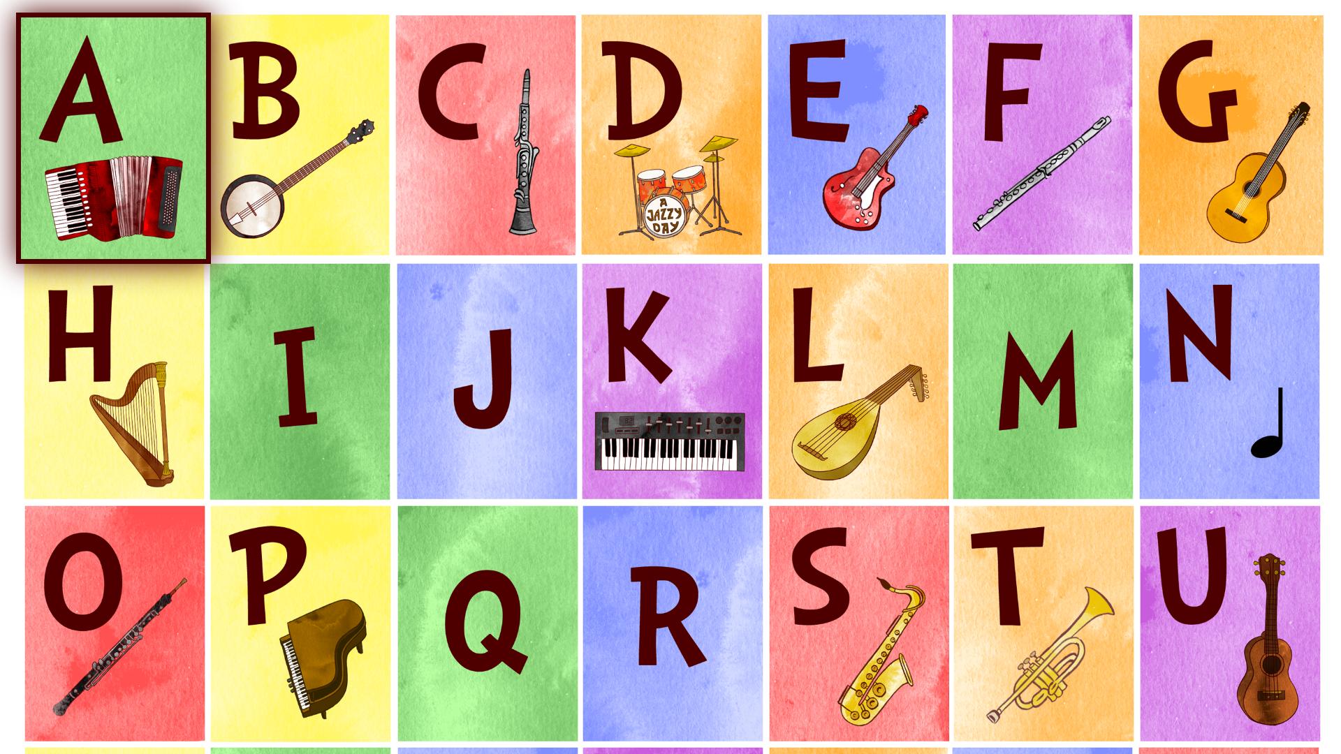 Jazzy ABC - Music Education screenshot 12