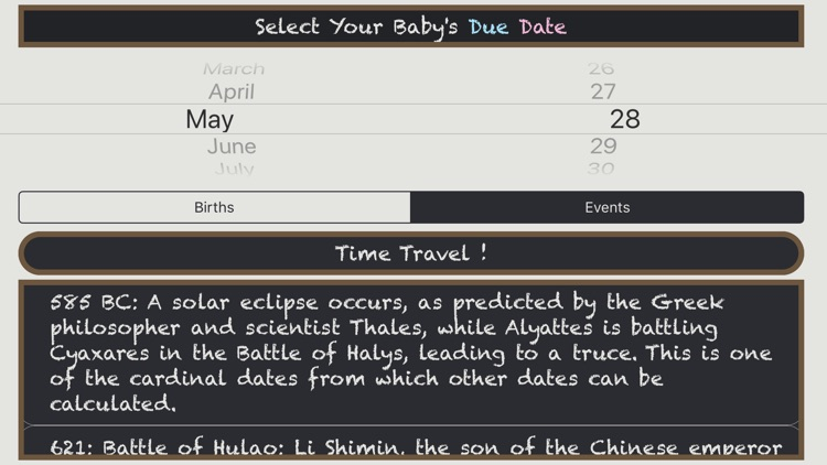 Due Dates In History screenshot-4