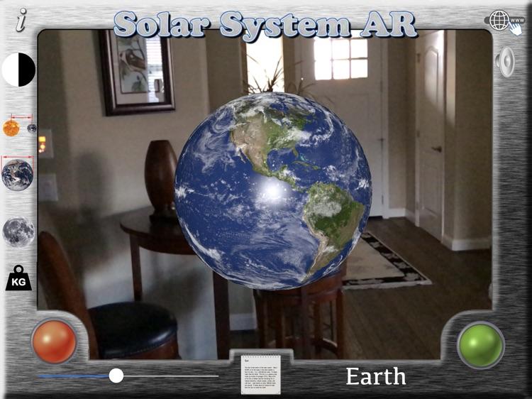 The Solar System - AR screenshot-3