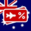 澳大利亚飞:预订廉价航班和机票,找到优惠和促销