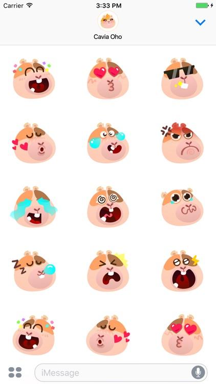 Cavia YoHo Stickers screenshot-3