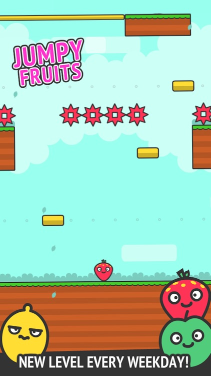 Jumpy Fruits screenshot-0