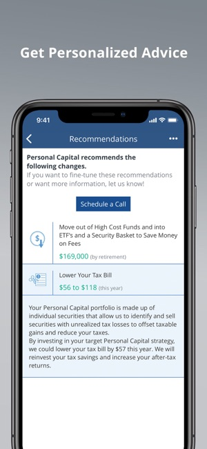 personal capital on the app store