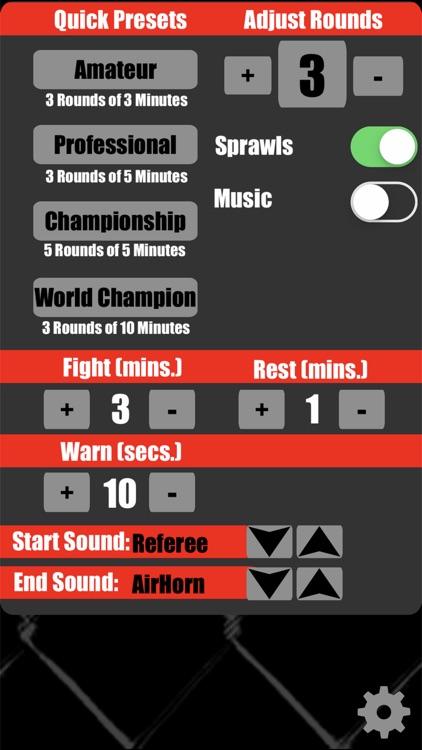 MMA Timer Pro screenshot-3