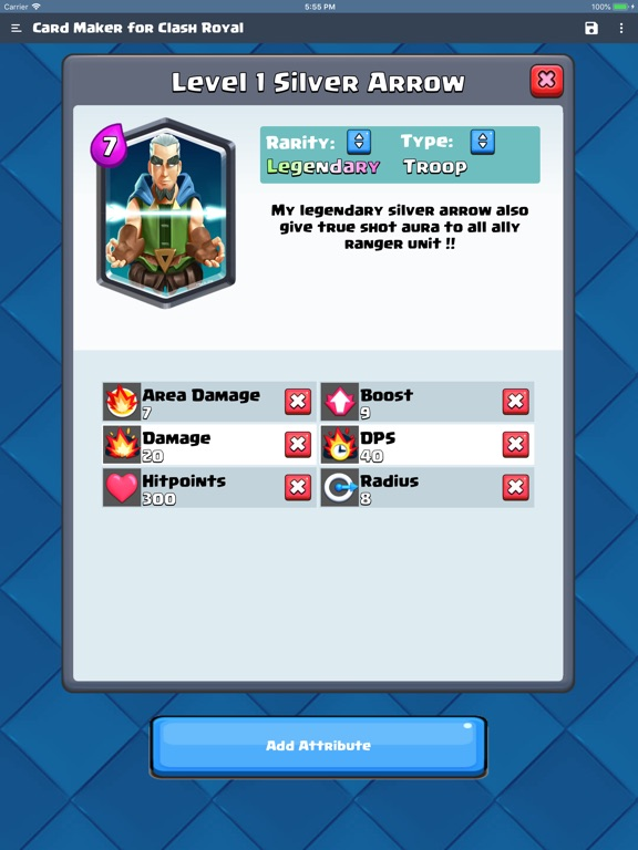 Card Maker for Clash Royale screenshot 6