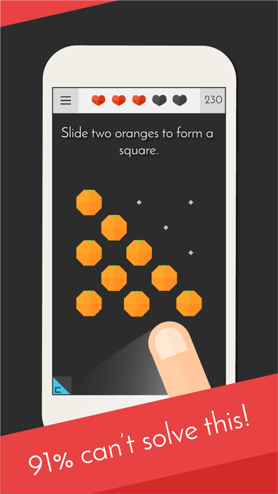 Tricky Test 2™: Genius Brain? Screenshot on iOS