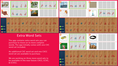 Movable Alphabet - D'Nealian screenshot 3