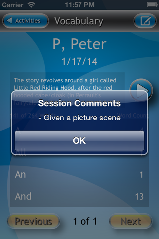 Vocab Measure screenshot 3