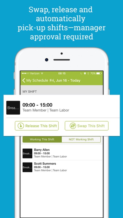 Screenshot for HotSchedules in United States App Store