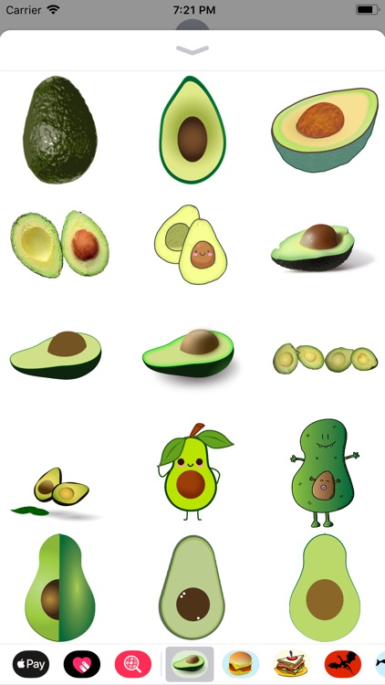 Avocado Stickers