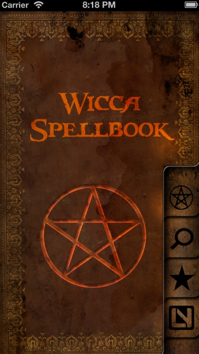 Wicca Spellbook review screenshots