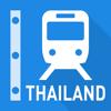 泰國鐵路線圖 - 曼谷和全泰國